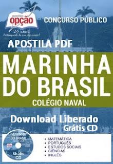 Apostila PDF Marinha Colégio Naval 2017
