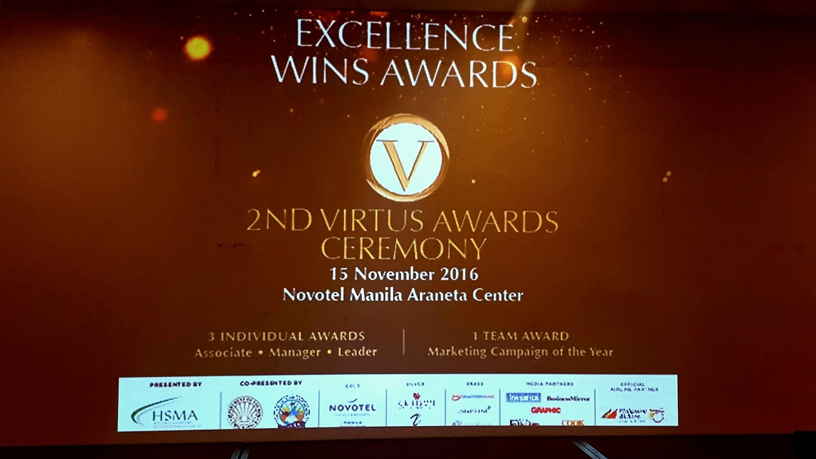 Virtus Awards Now On Its 2nd Year