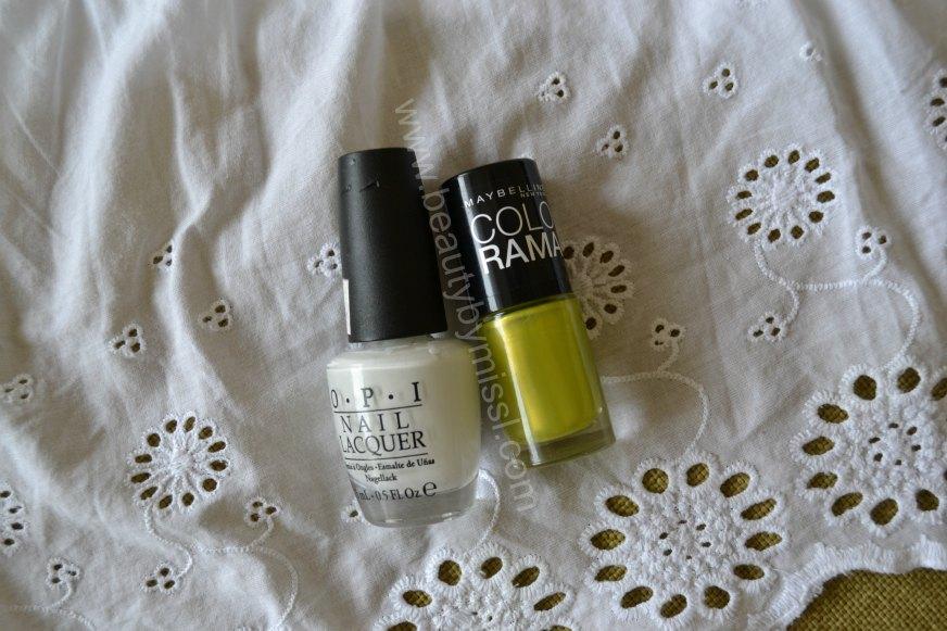 nail polishes, nail lacquers, nail enamels