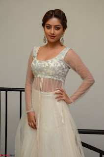 Anu Emmanuel in a Transparent White Choli Cream Ghagra Stunning Pics 027.JPG