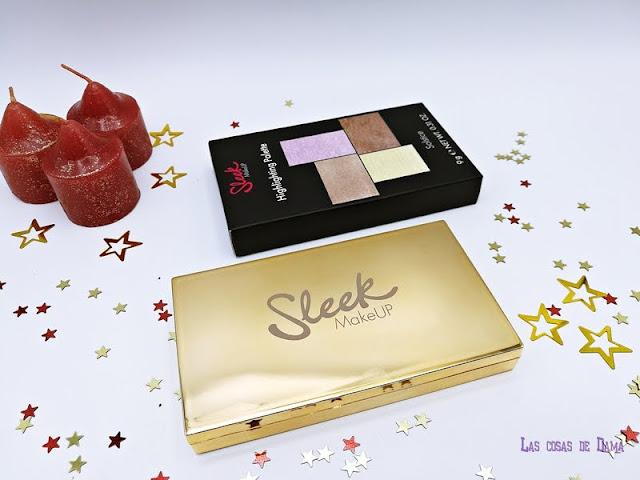 Sleek Makeup Paleta Iluminadores Solstice Matte Me Metallic belletica maquillaje makeup  labial liquido metalizado