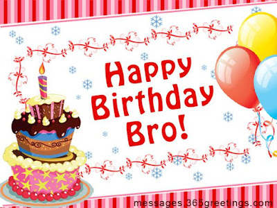 Happy bday Bro Dp for Whatsapp