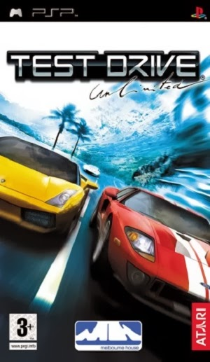 Test Drive Unlimited PSP Oyun Full