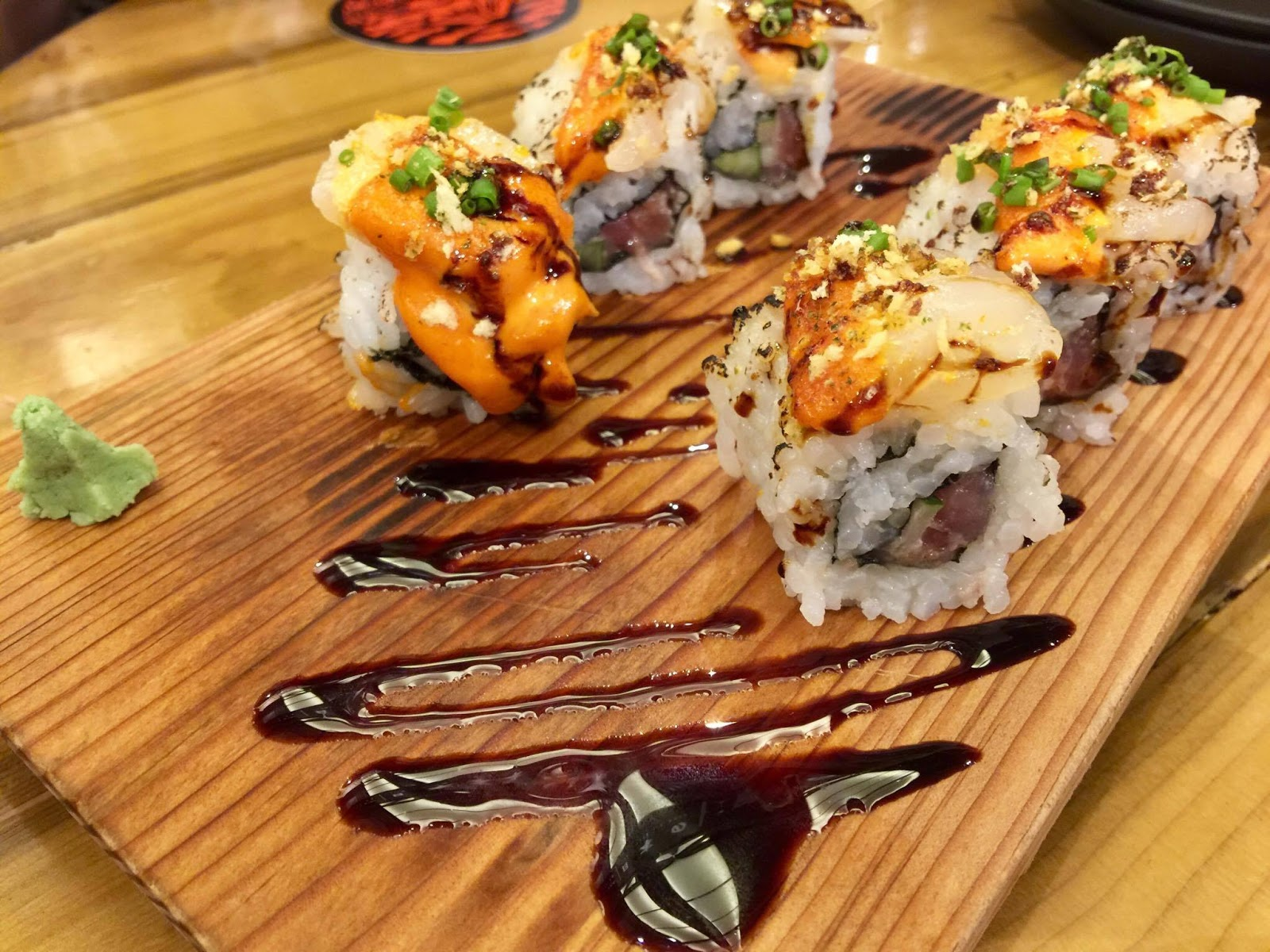 Ooma's Scallop and Tuna Aburi Maki (php295)