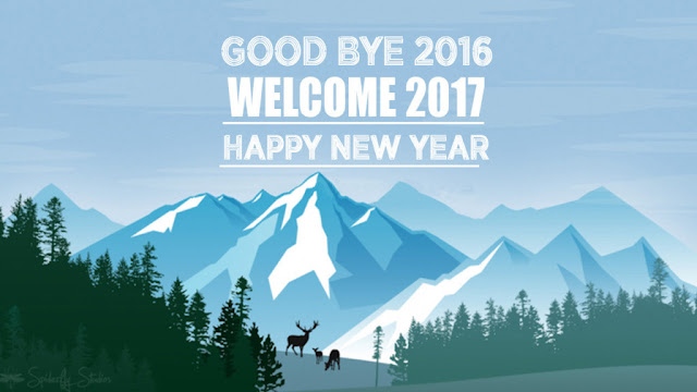 Goodbye 2016 Welcome Happy New Year 2017 Images