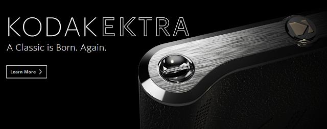 Kodak Ektra, Smartphone Android untuk Fotografer