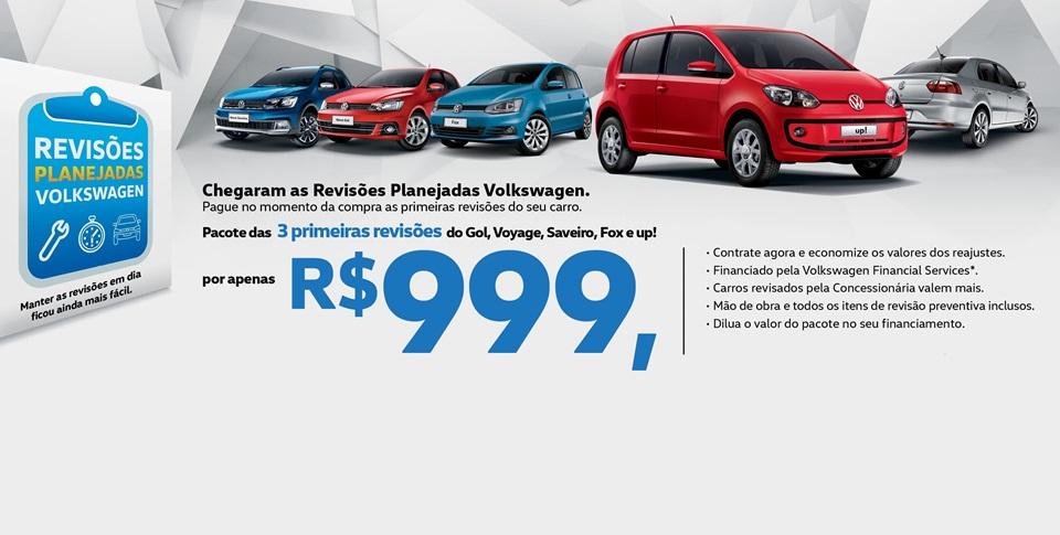Volkswagen inova com novo plano de revisões pré-pagas: mais tranquilidade por 3 anos