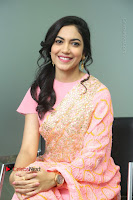 Actress Ritu Varma Pos in Beautiful Pink Anarkali Dress at at Keshava Movie Interview .COM 0256.JPG