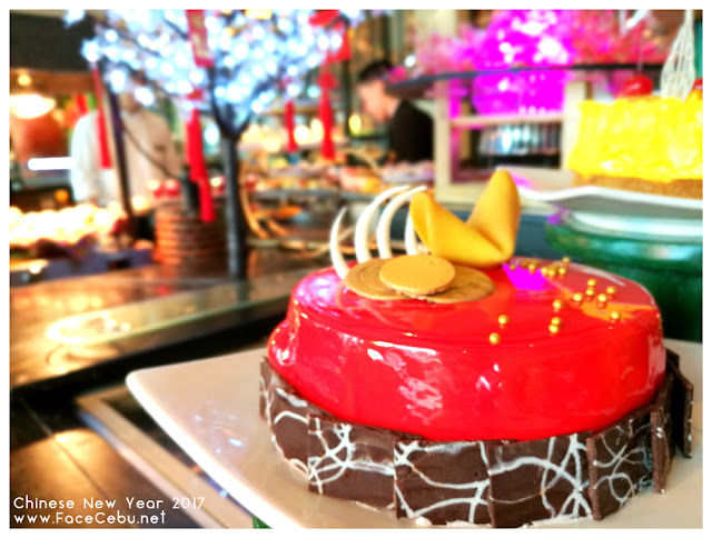 Sweet Cake at UNO Restaurant,Waterfront Airport Hotel and Casino