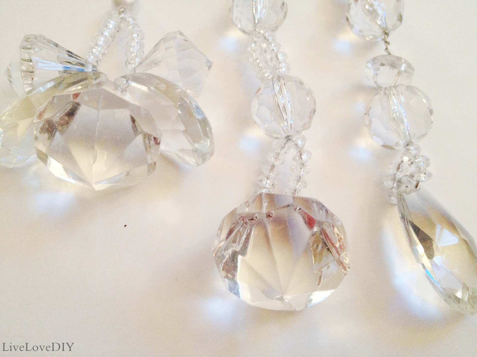 Crystal Christmas Ornaments.Livelovediy How To Make Your Own Christmas Ornaments Part 3