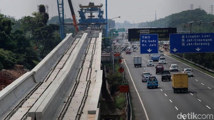 Investasi LRT Jabodebek Bengkak, Para Menteri akan Bahas Porsi KAI