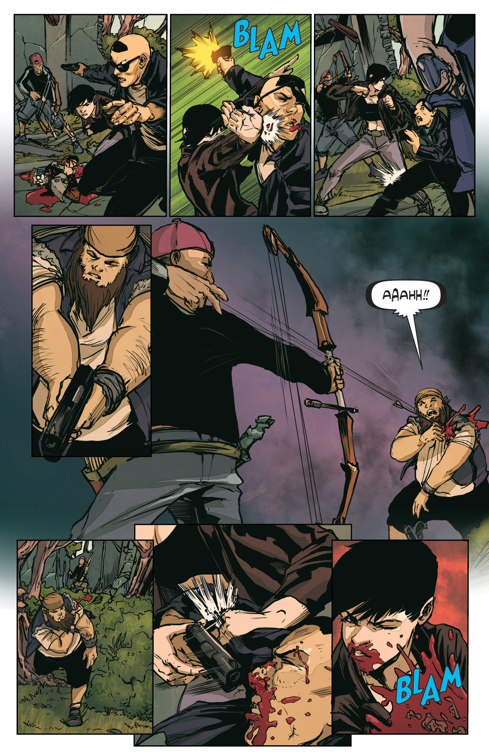 Read online The Courier: From the Ashes comic -  Issue #3 - 10