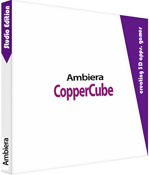 ambiera CopperCube Studio Edition 6.0 poster box cover