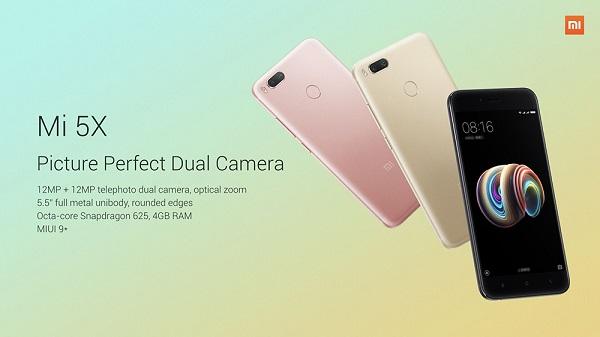 Harga Xiaomi Mi 5X dan Review Lengkapnya