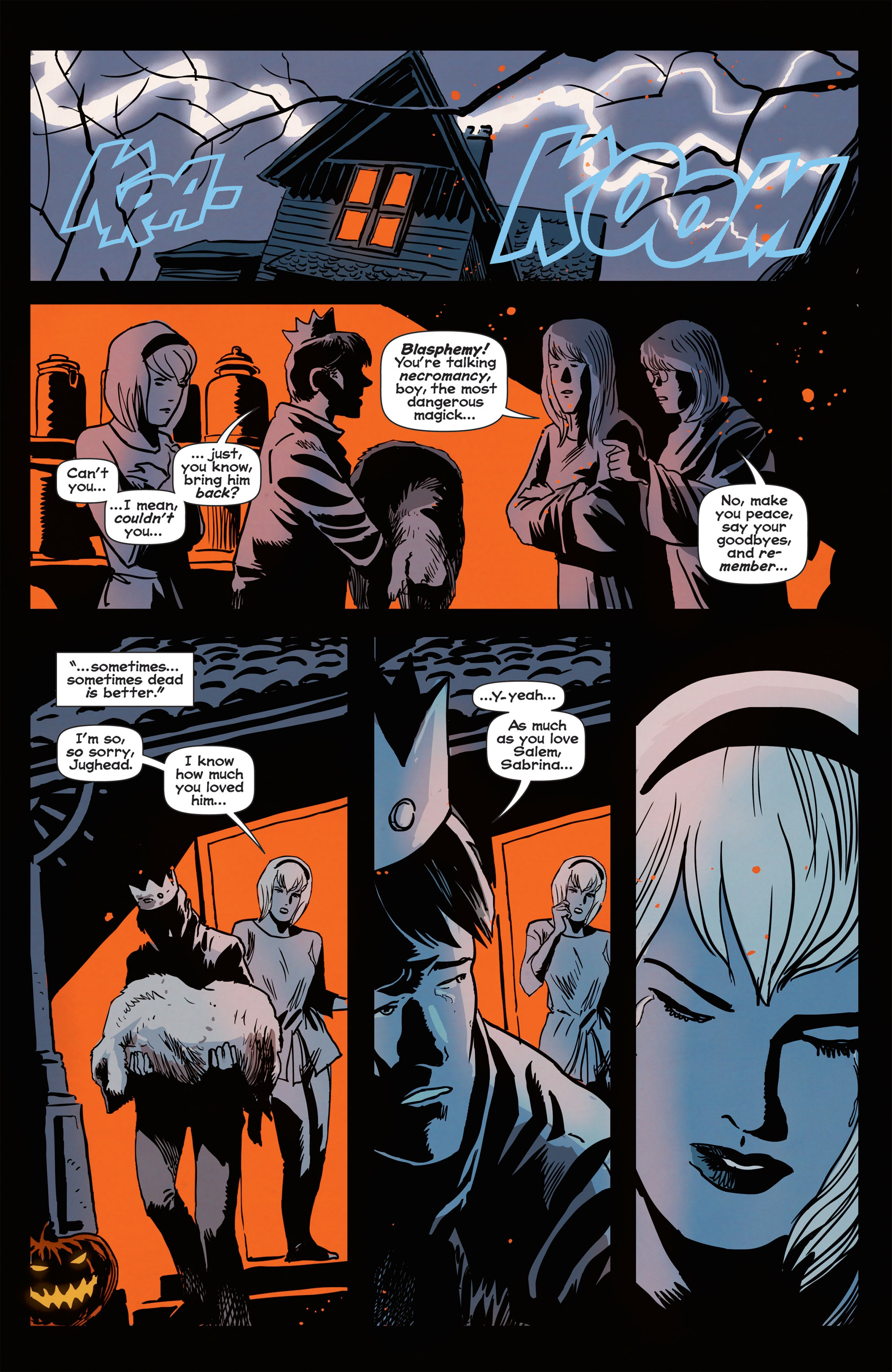 Read online Afterlife with Archie comic -  Issue #1 - 7