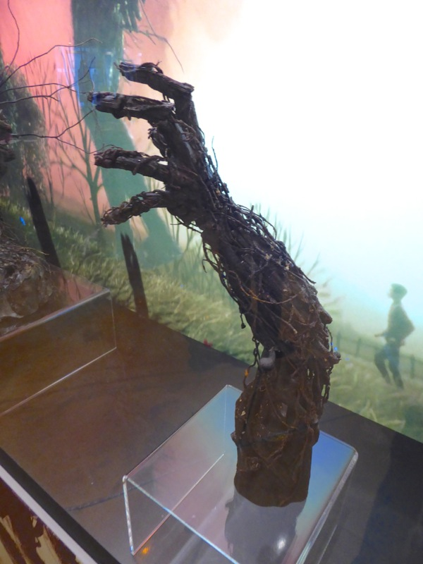 A Monster Calls tree monster arm model
