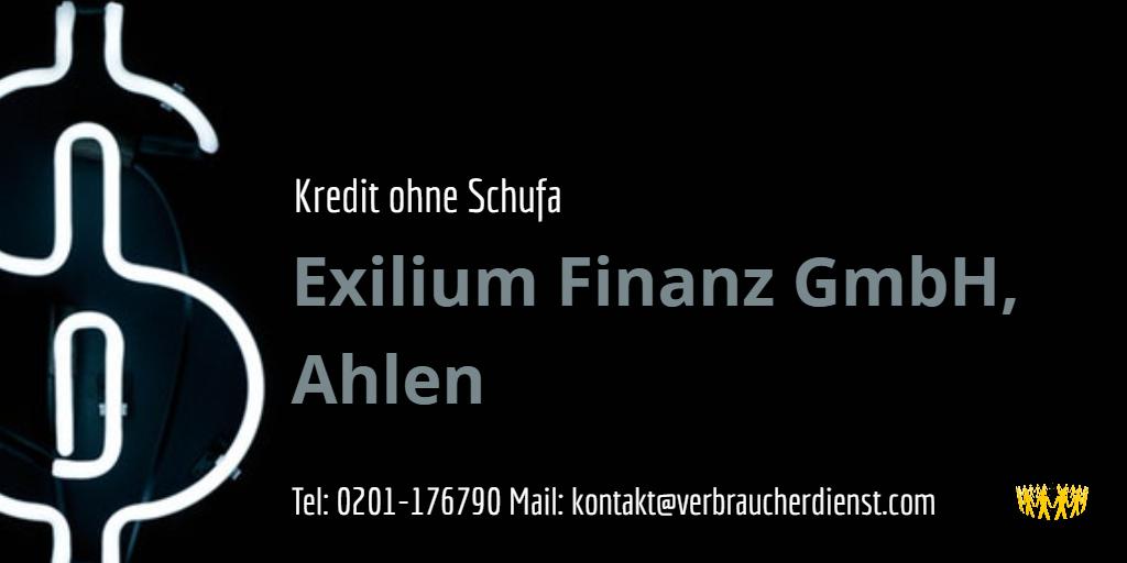 Exilium Finanz Erfahrung