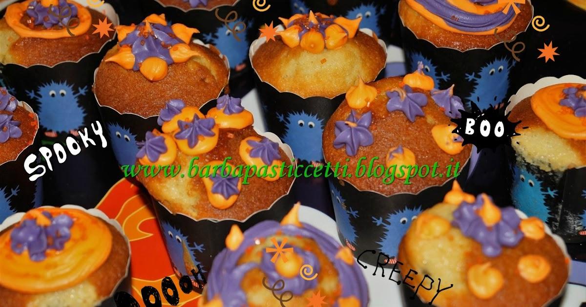 Muffins per Halloween con decorazioni di ghiaccia reale!