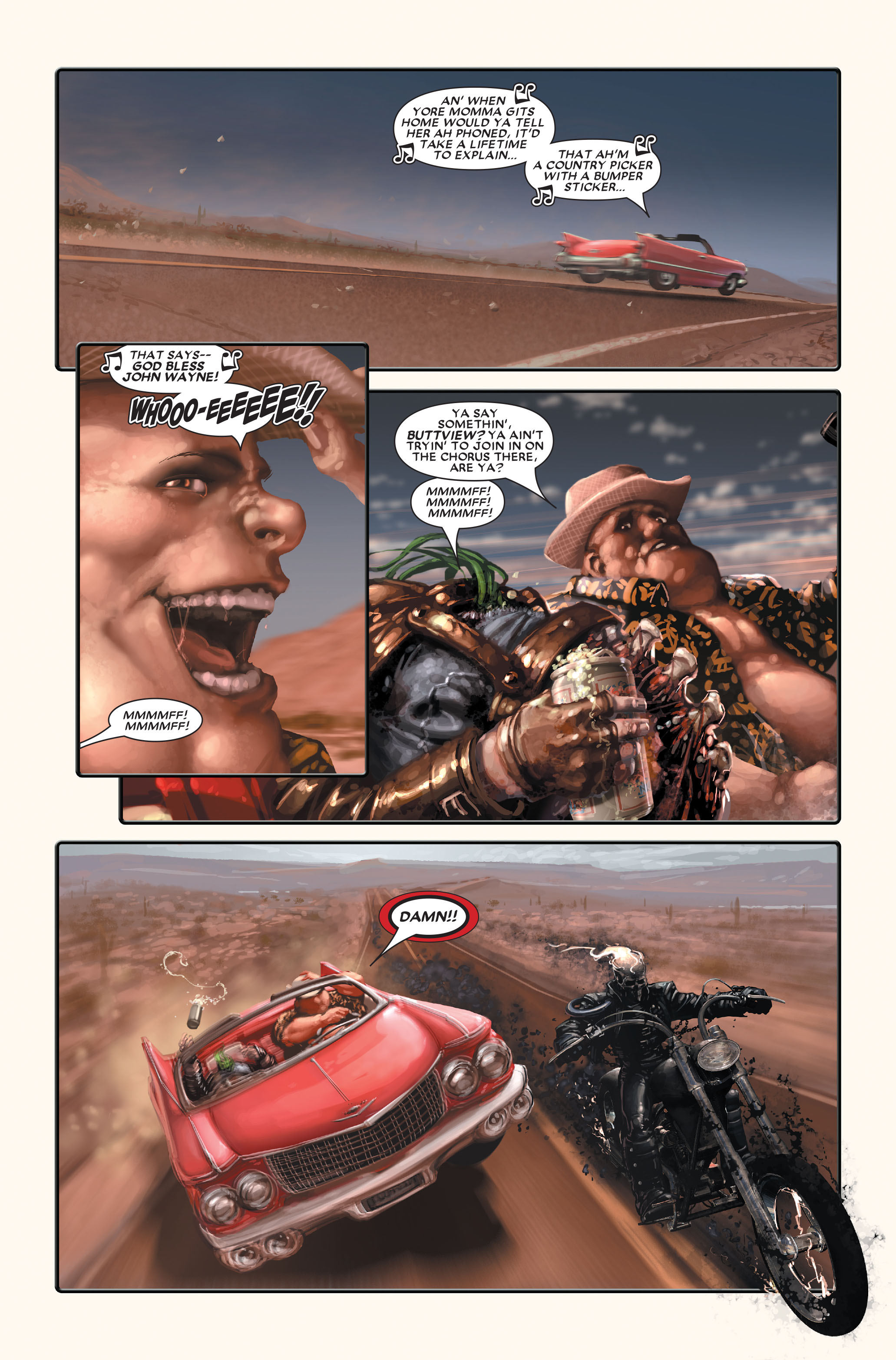 Ghost Rider (2005) Issue #3 #3 - English 4