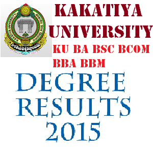 KU Kakatiya University Degree Results 2016 Announced