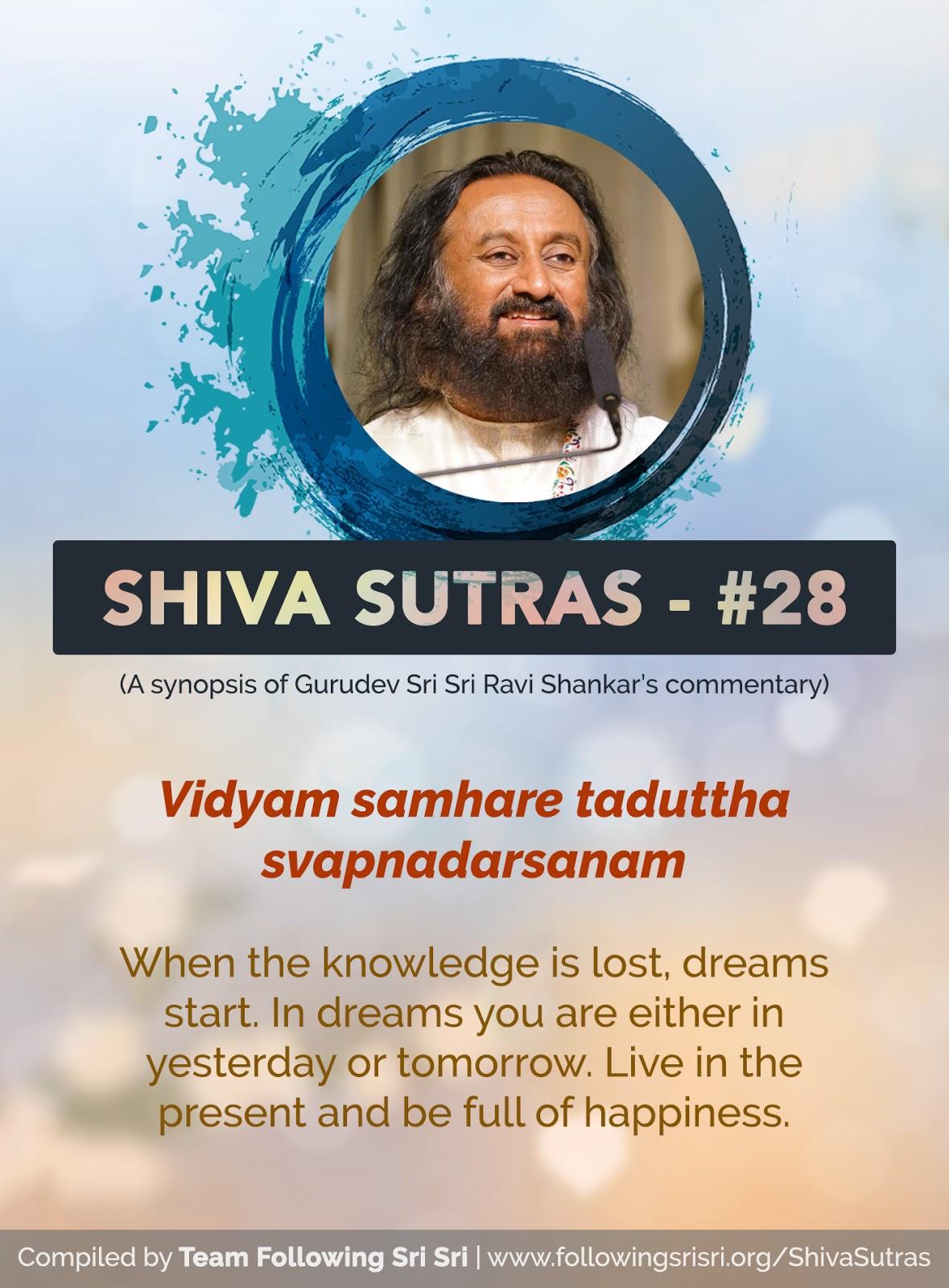 Shiva Sutras - Sutra 28