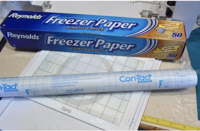 freezer paper contact paper silhouette cameo  silhouette curio