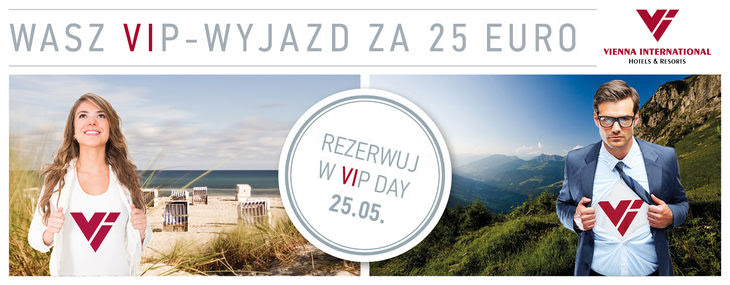 promocja hoteli Vienna International VIP DAY