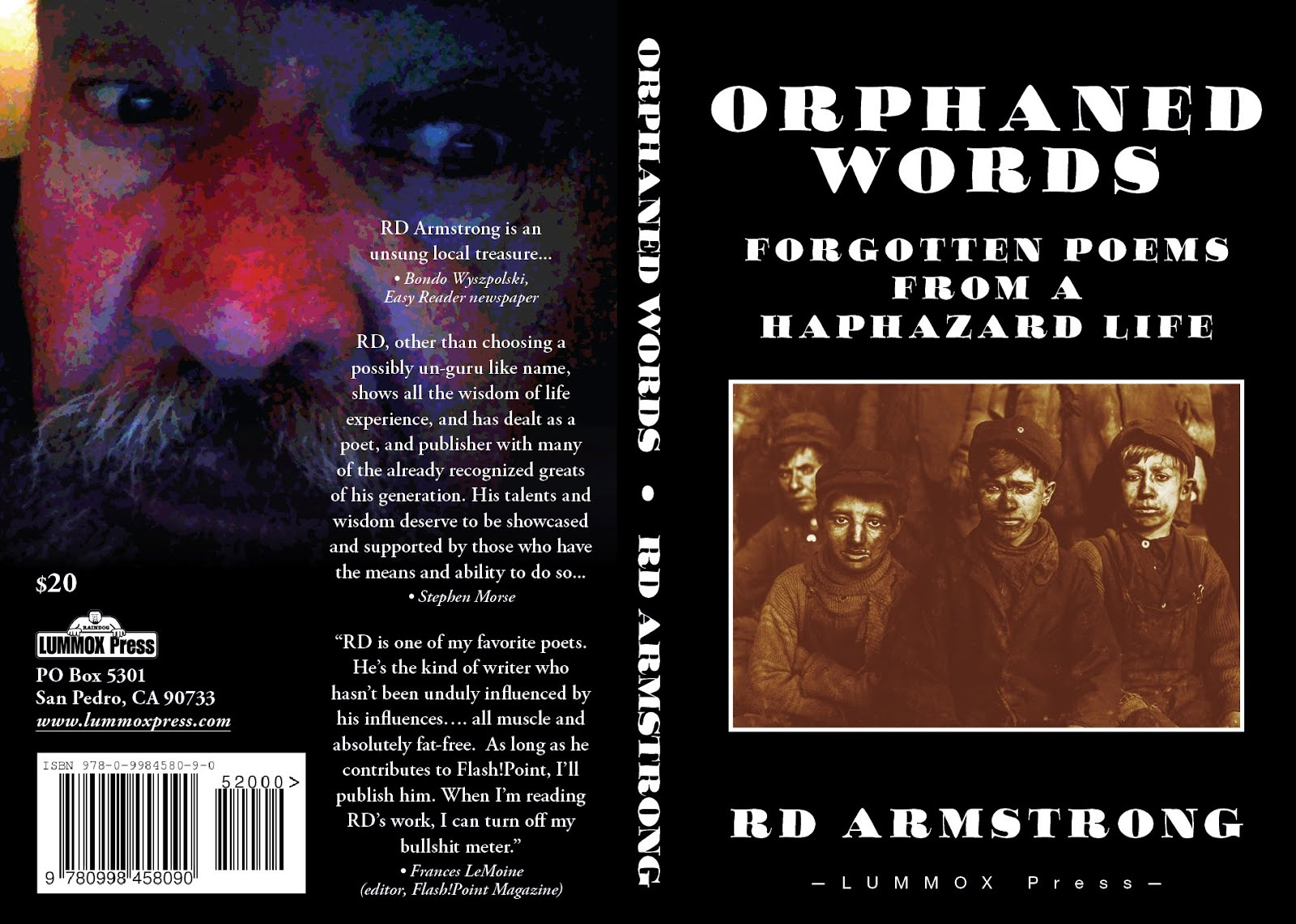 Orpahned Words: Forgotten Poems For A Haphazard Life by R.D. Armstrong