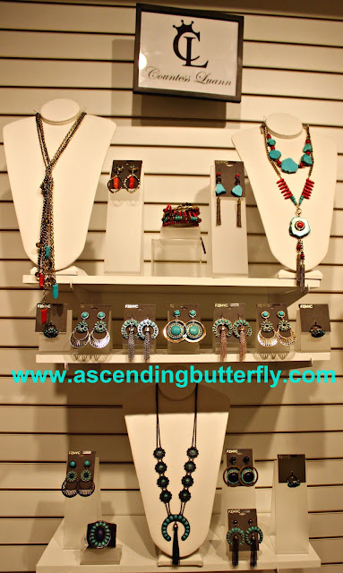 Western Chic Collection, Statement Necklaces, Statement Earrings, Statement Bracelets, Southwestern Jewelry, Indian Inspired Jewelry, Fantasy Jewelry, Costume Jewelry, Press Preview of Countess LuAnn de Lesseps Countess Jewelry Collection in New York City