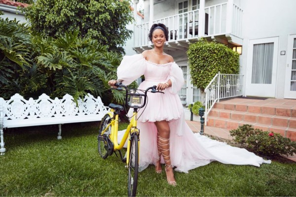 Rihanna is Helping Young Girls in Malawi get to School with Bicycles