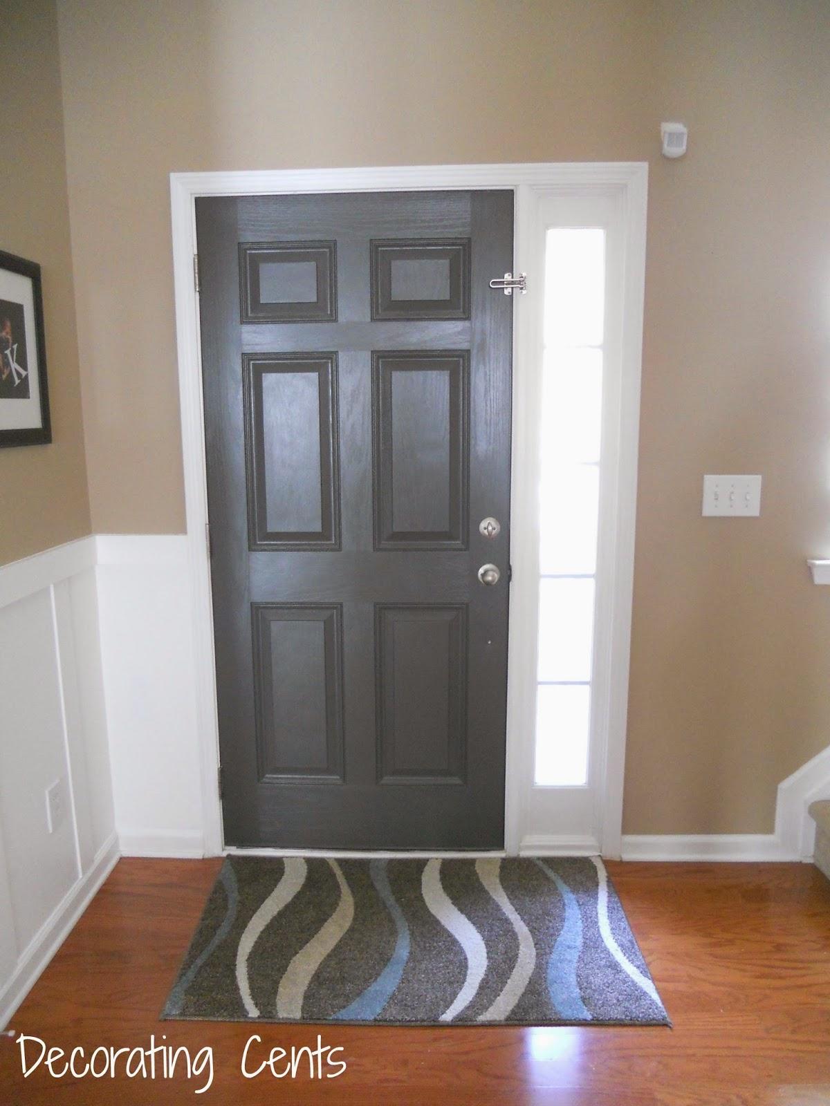 Gray Front Door on Door Color Ideas  id=43214