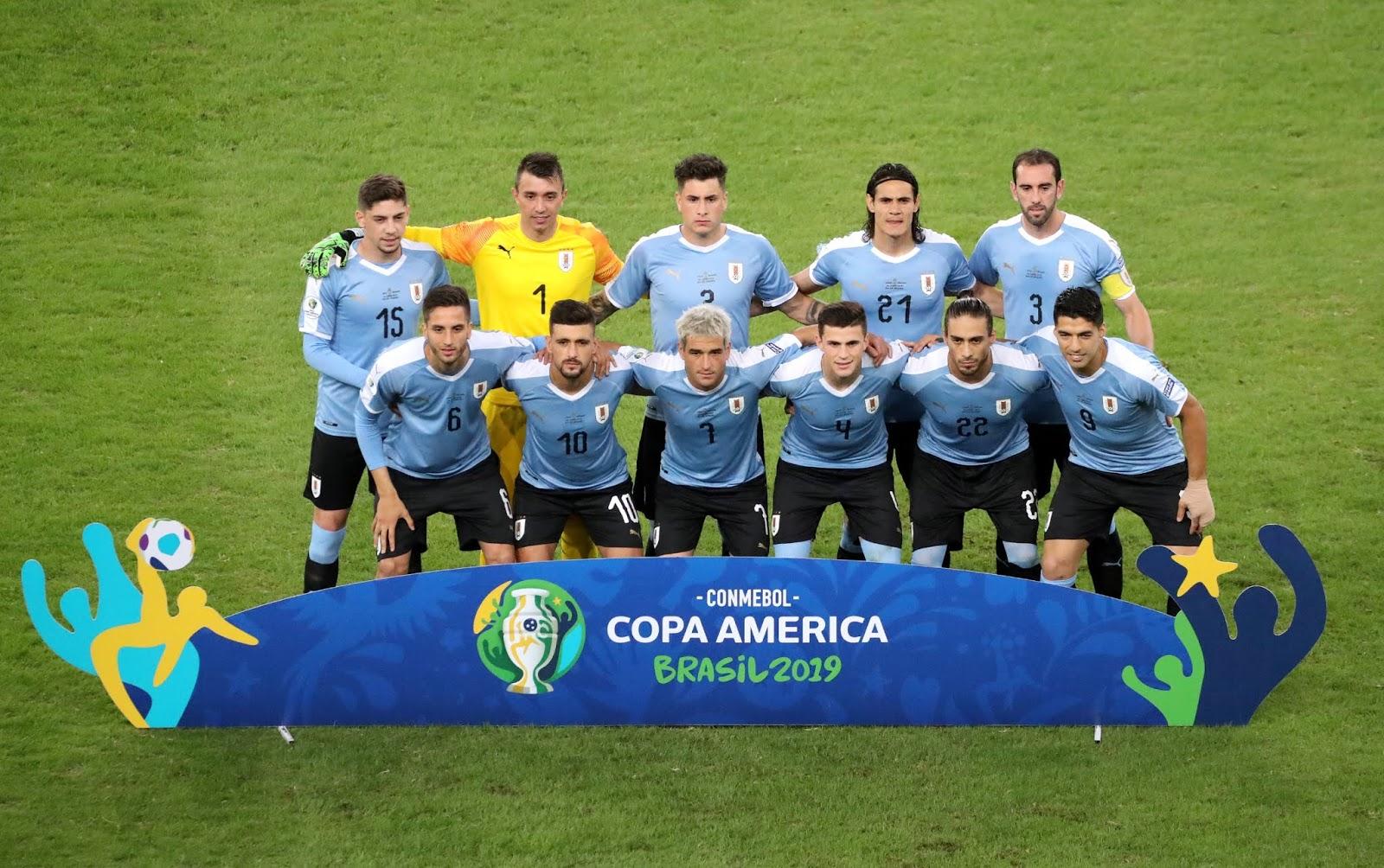 Formación de Uruguay ante Chile, Copa América 2019, 24 de junio