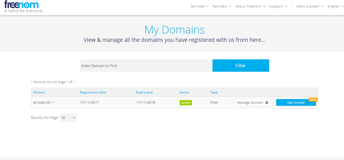 How to setup custom domain in Blogger, al-otain.com