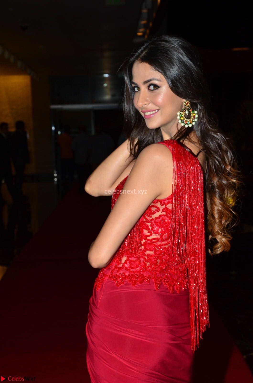 Actress Malvika Raaj in Red Leg Split Gorgeous Gown at Jayadev Audio Function 2017 ~ CelebsNext Exclusive
