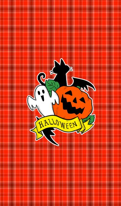Halloween check theme