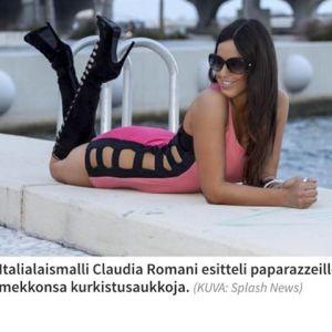 claudia romani wasit, cantik, seksi, montok