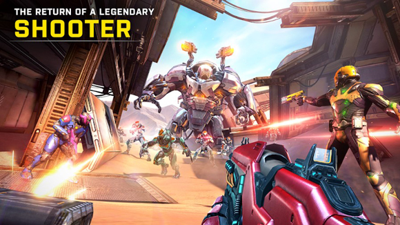 Download Shadowgun Legends Mod Apk + Data v0.8.5 God Mode Android Terbaru 2019