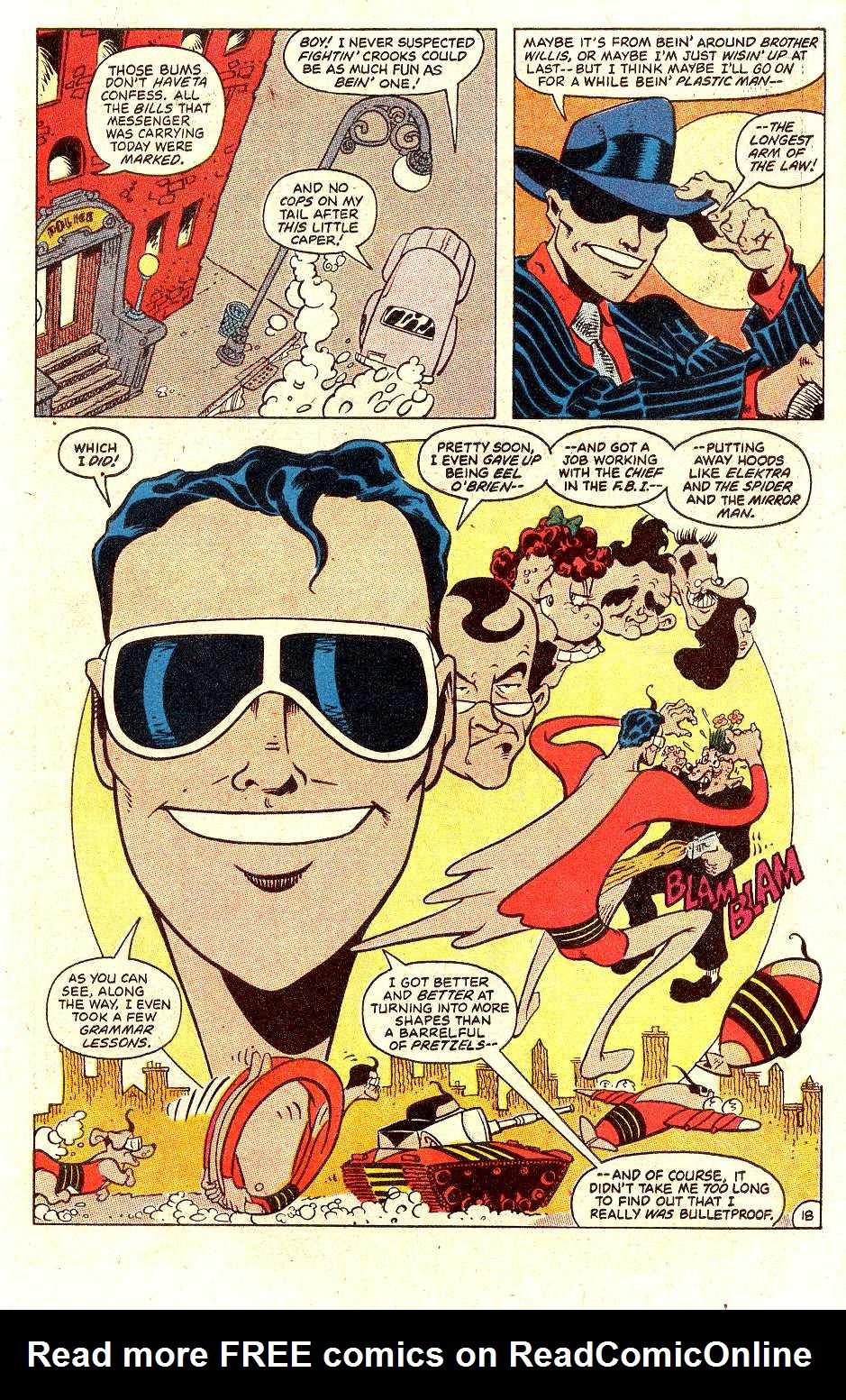 Read online Secret Origins (1986) comic -  Issue #30 - 40