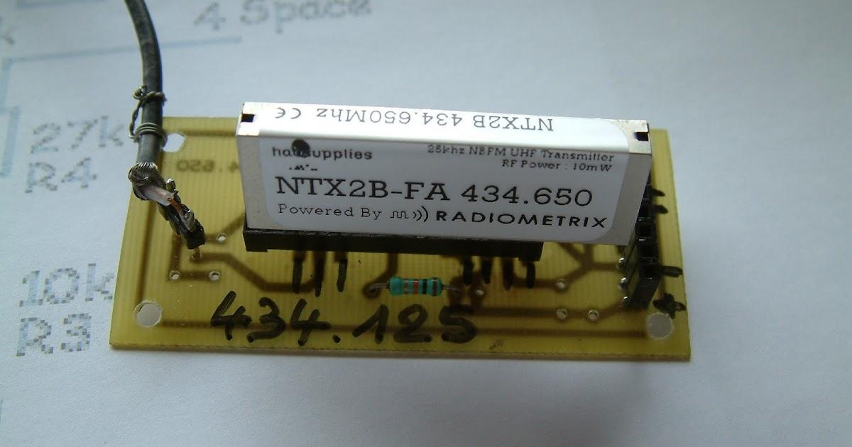 Alerte radiosondes arduino ntx b antenne quart d onde