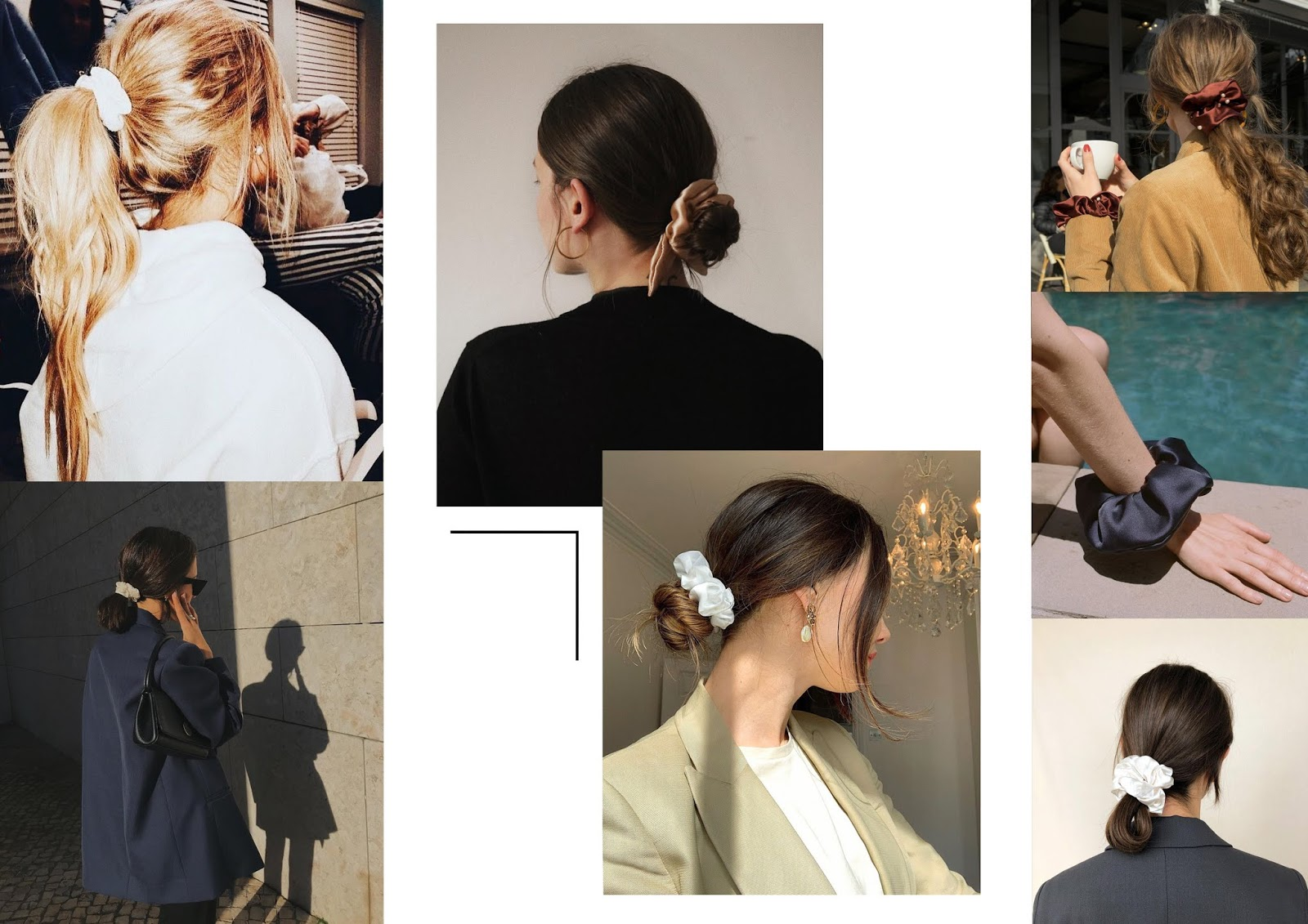 SS19, The Edit, Accessories, Hair Accessoires, Fashion, Laura Rebecca Smith, Scrunchies, Head Band, Pearl Clips, Slogan Clips, Hair Scarves, Bows,