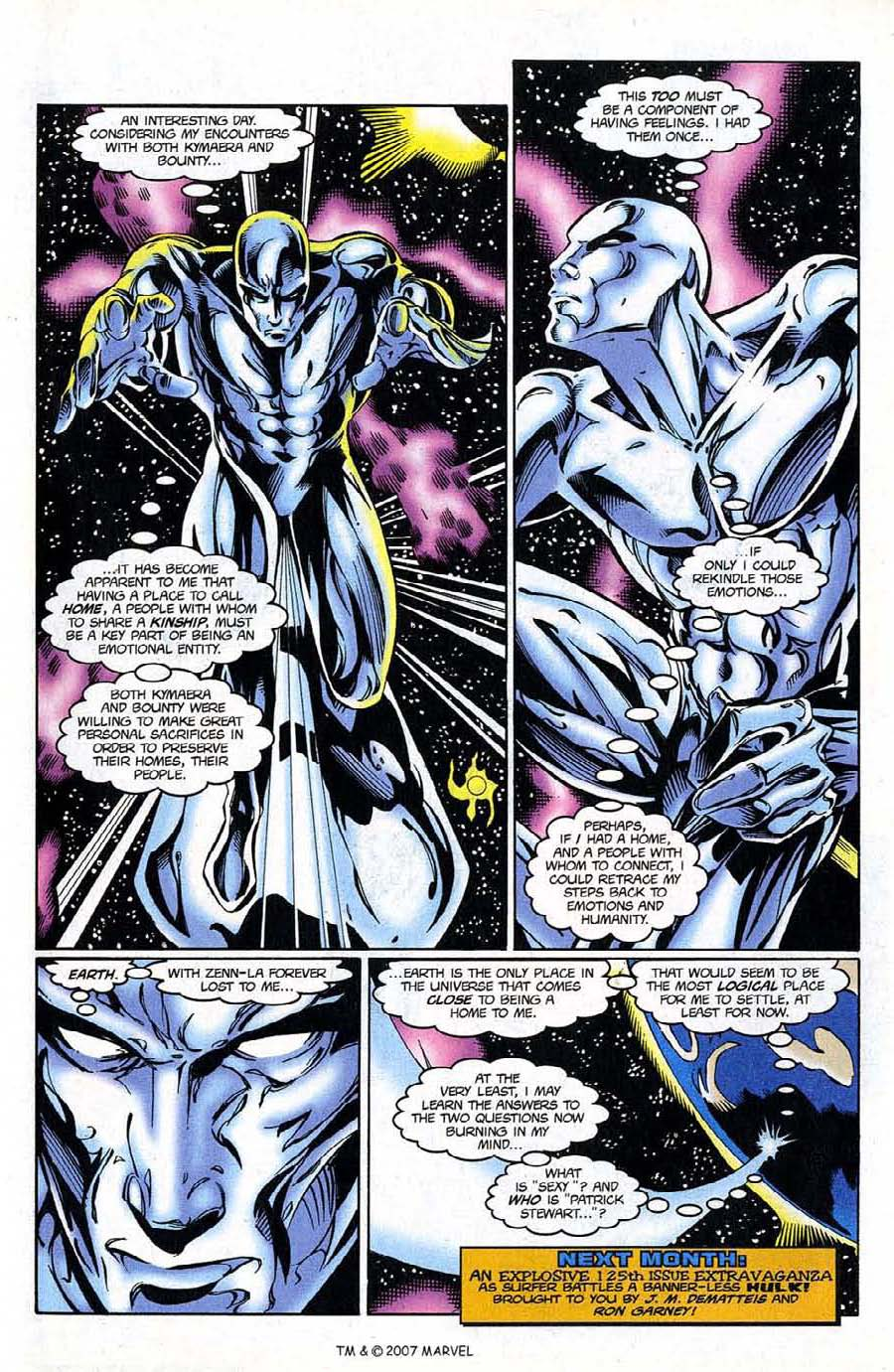 Read online Silver Surfer (1987) comic -  Issue #124 - 33