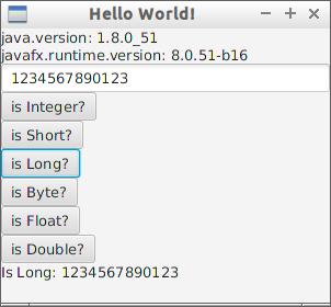 Java-Buddy: Validate and parse JavaFX TextField to various