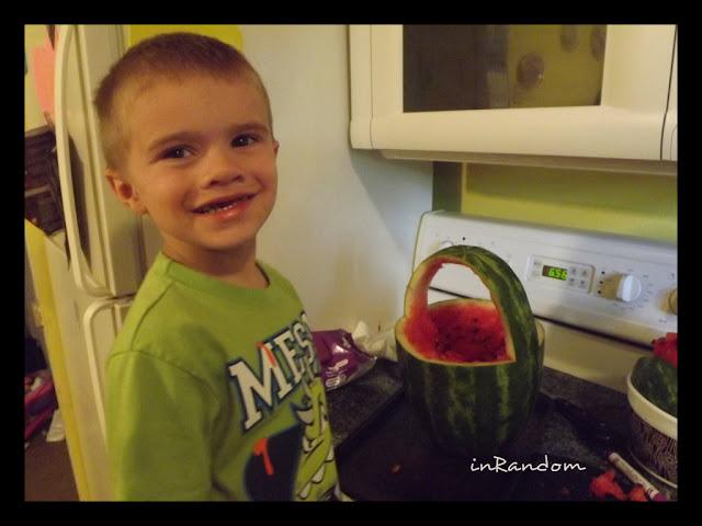 shape the watermelon