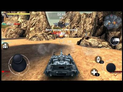Cara Bermain Game Super Tank War Nations