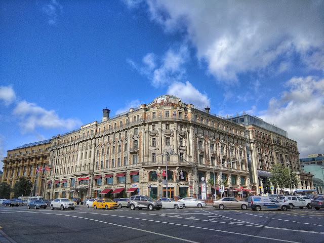 Hotel National Moscu Rusia