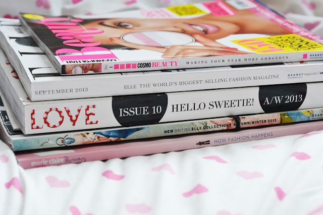 A photo of 5 major British fashion publications