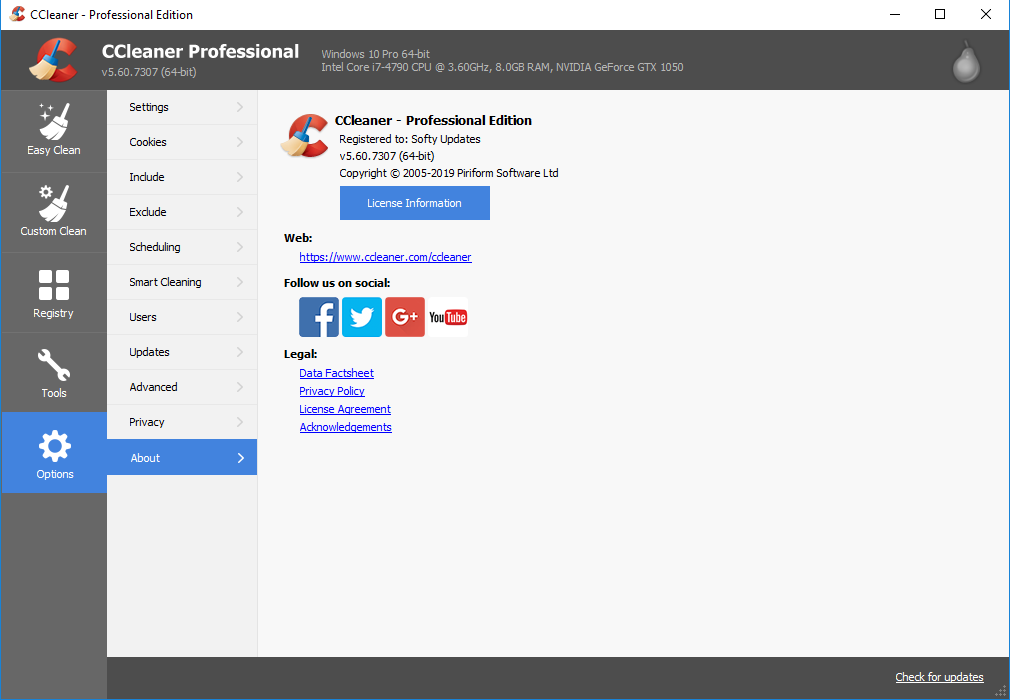 CCleaner 5.61.7392