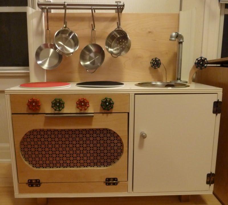 I M Dreaming Of A Diy Play Kitchen: BaldManModPad: Play Kitchen... REVEALED