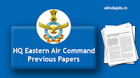 HQ Eastern Air Command Previous Papers