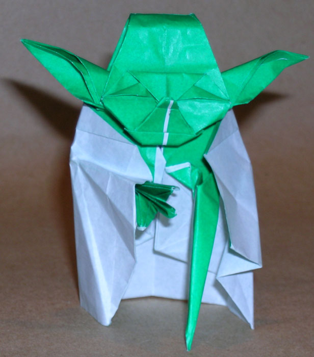 Star Wars Origami: Yoda Origami Instructions and Tutorial - photo#15